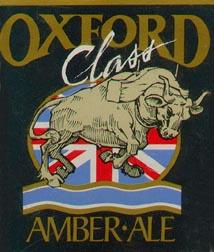 original   Oxford Class label for British Brewing Company