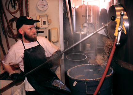 Bob Kittrel, Sisson's brewer, circa 1997